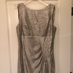 Formal metallic dress